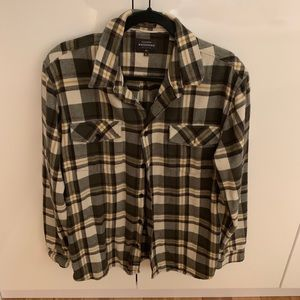 Men's Quicksilver Button Down Shirt
